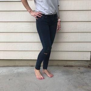 Navy blue Zara Jeans